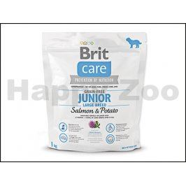 BRIT CARE Grain-Free Junior Large Breed Salmon & Potato 1kg
