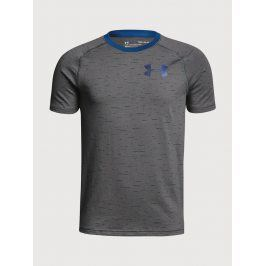 Tričko Under Armour Cotton Knit SS Šedá